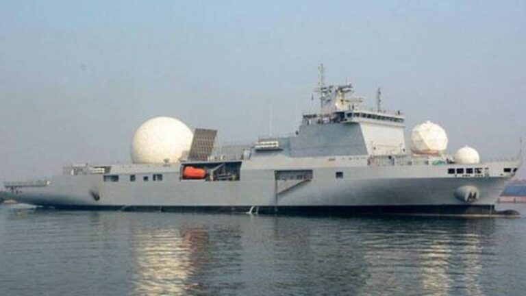 India commissions 1st missile tracking ship INS Dhruv