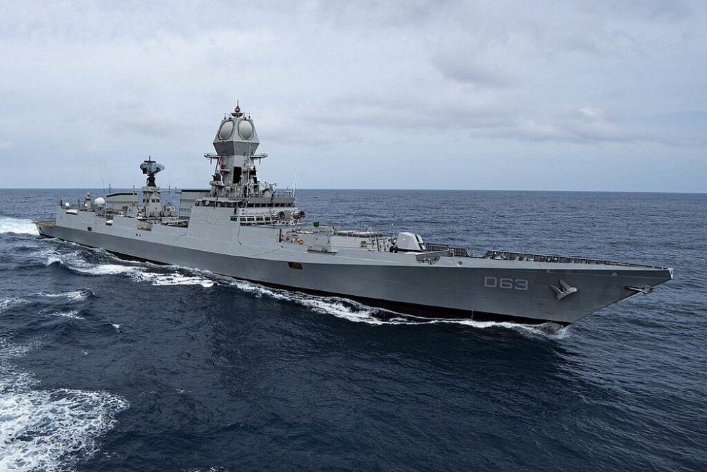 ins kolkata during malabar 2020 1 - naval post- naval news and information