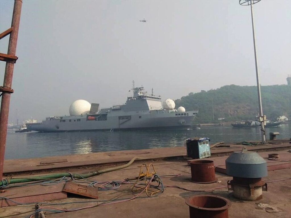 indian navy future tracking ship vc 11184 - naval post- naval news and information