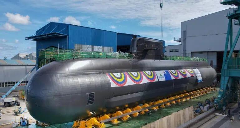 south korea's new 3,000-ton-class submarine, the shin chae-ho