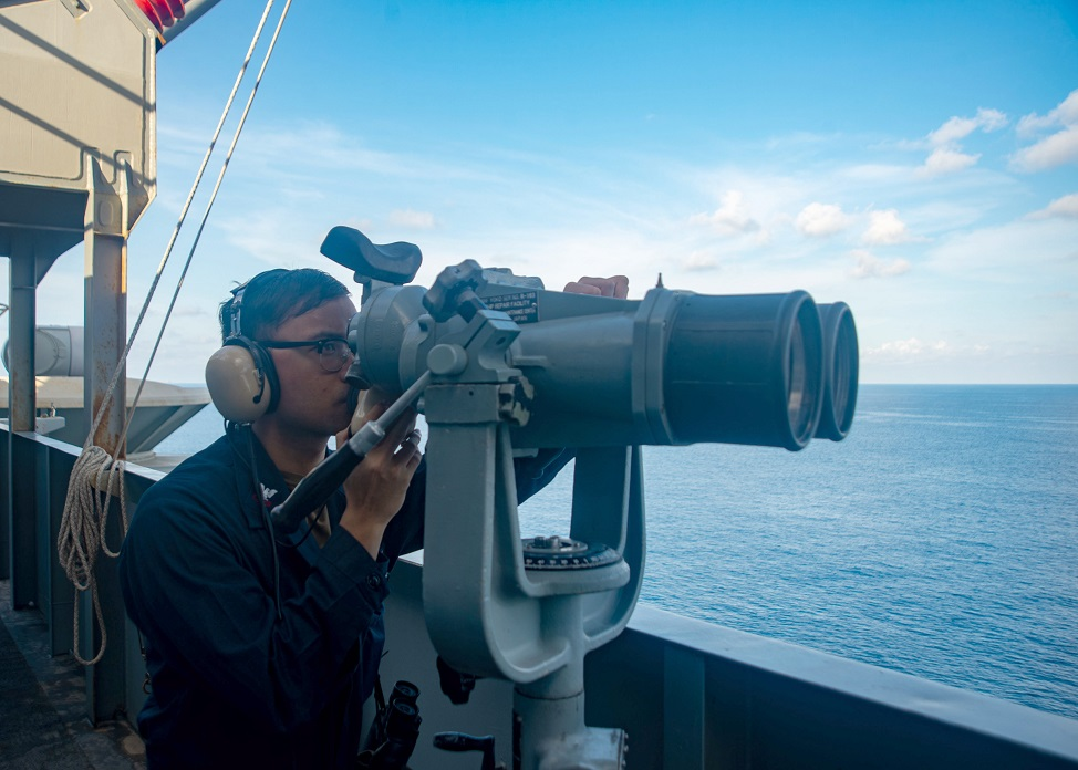 ronald reagan carrier strike group returns to the south china sea 2 - naval post- naval news and information
