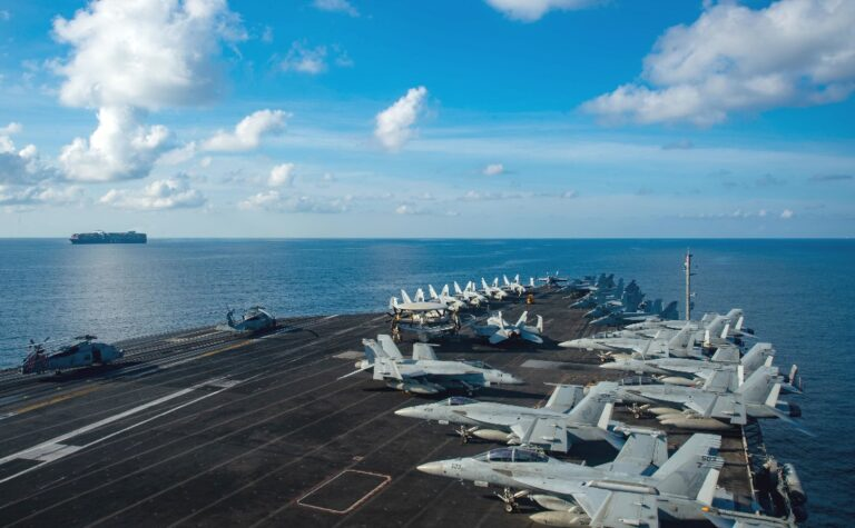 Ronald Reagan CSG returns to the South China Sea