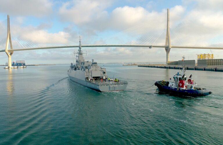 Navantia begins the sea trials of the 1st Al Jubail class corvette for the Royal Saudi Navy