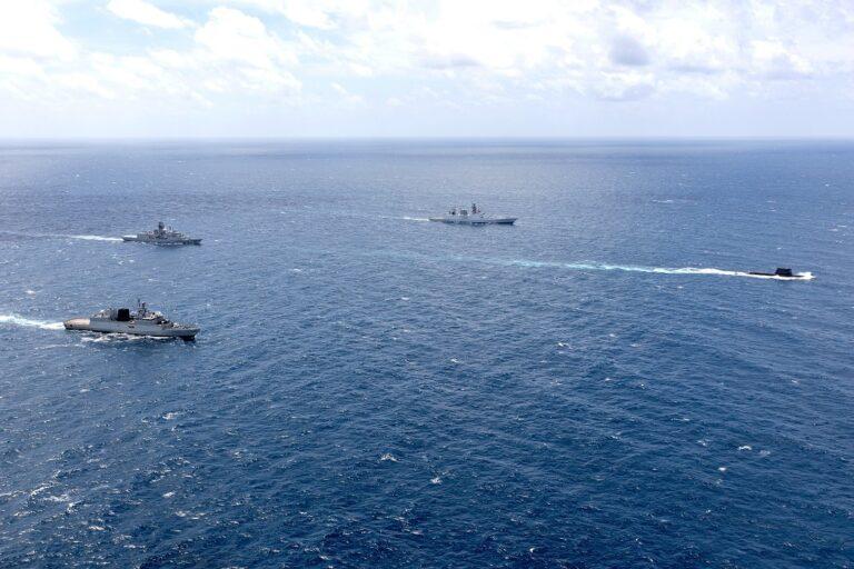 Royal Australian Navy and Indian Navy kicks off 'AUSINDEX' bilateral exercise