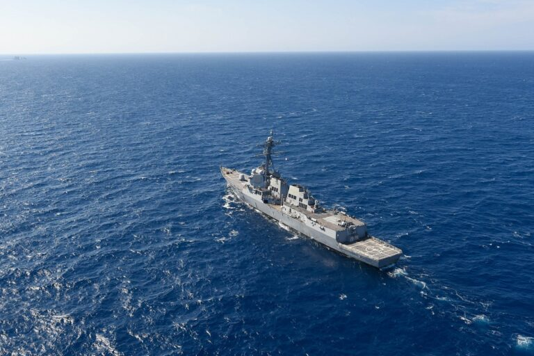 U.S. destroyers participate in Canadian-led Cutlass Fury 2021