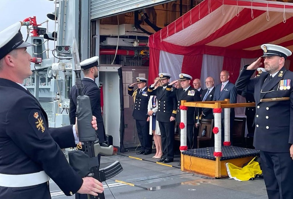 hms portland 3 - Naval Post- Naval News and Information