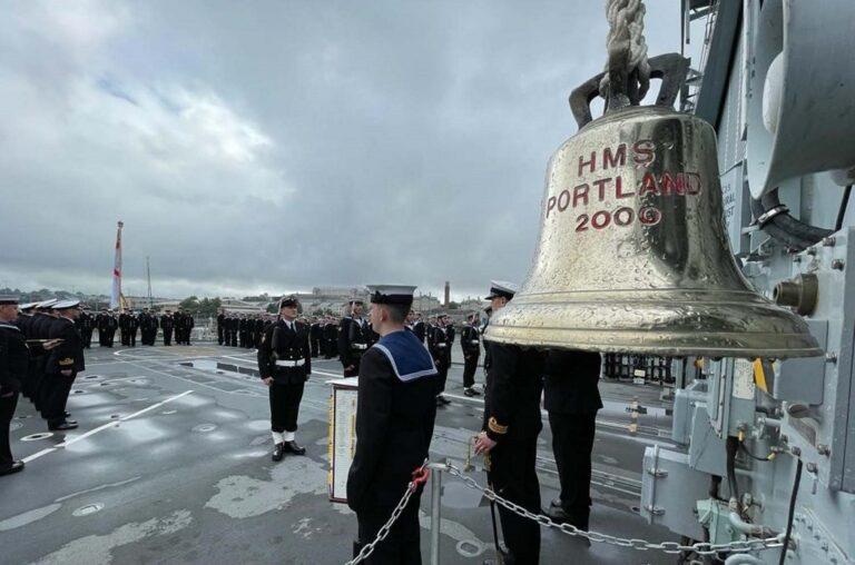HMS Portland returns to service after overhaul
