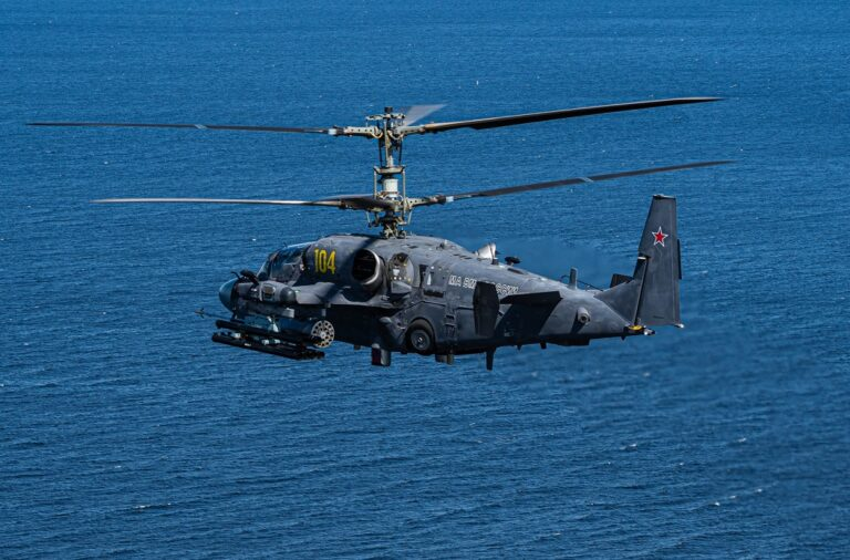 China to procure 36 Ka-52K Katran helicopters from Russia