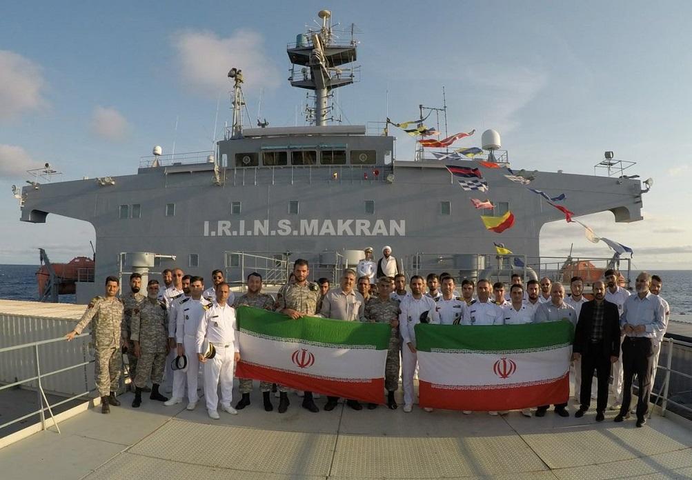 makran return ceremony - naval post- naval news and information