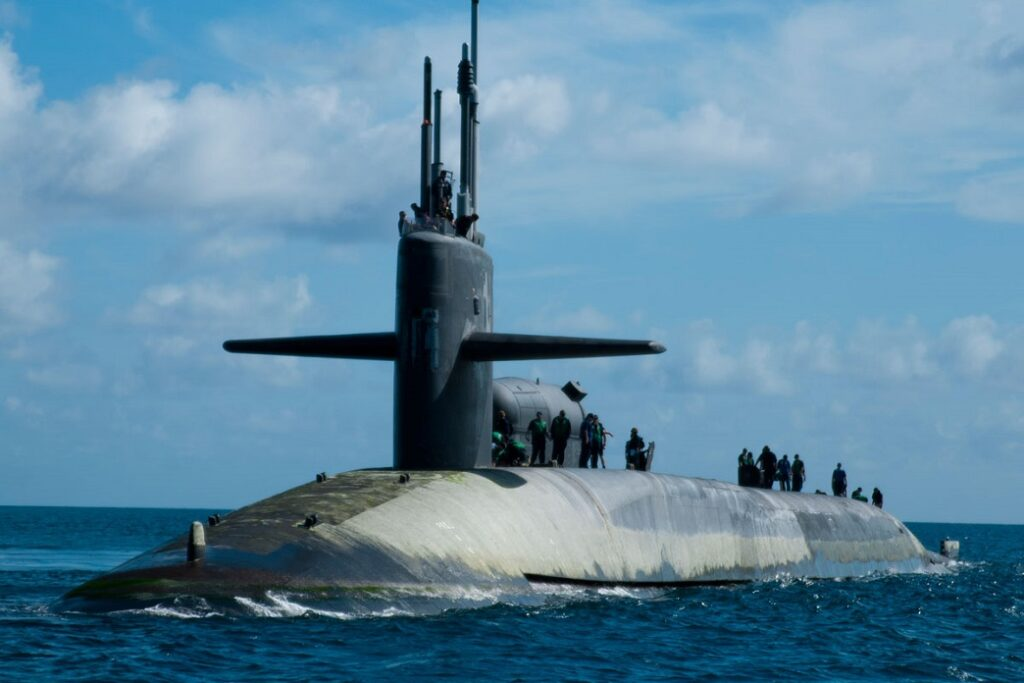 ohio class guided missile submarine 001 - naval post- naval news and information