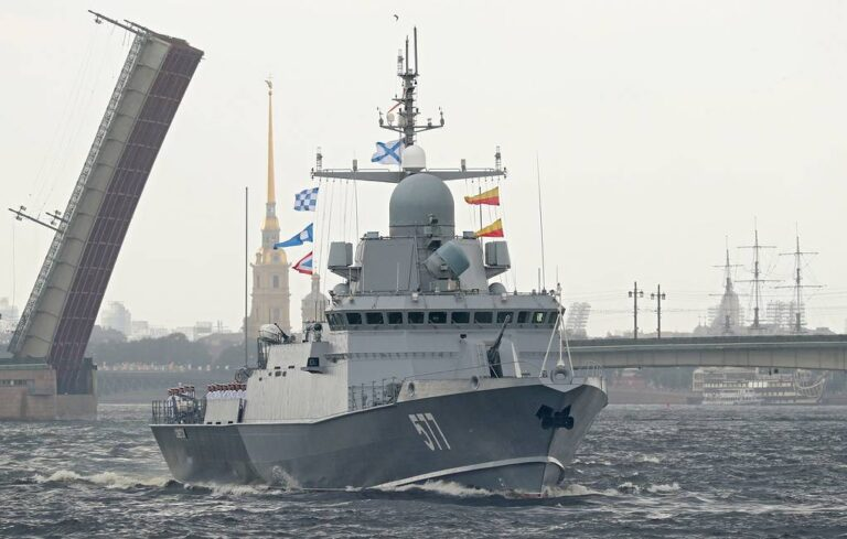 Russian corvette returns to home after cruise missile firings in the Arctic