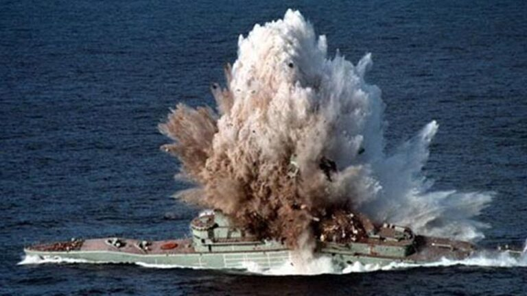 How Underwater Explosions Damage the Surface Ships and Submarines?