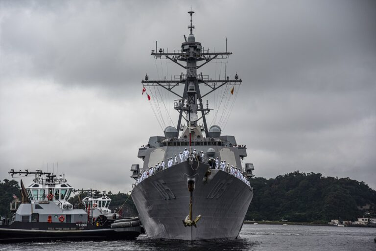 USS Dewey joins 7th Fleet forces