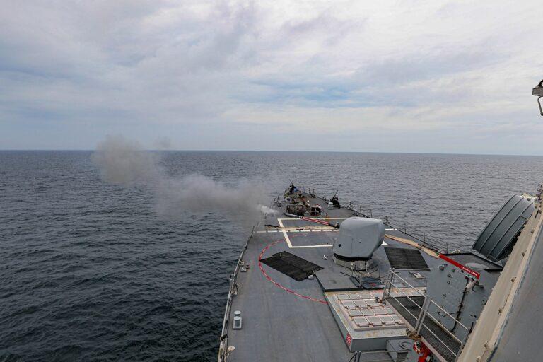 USS Porter begins FOST in England