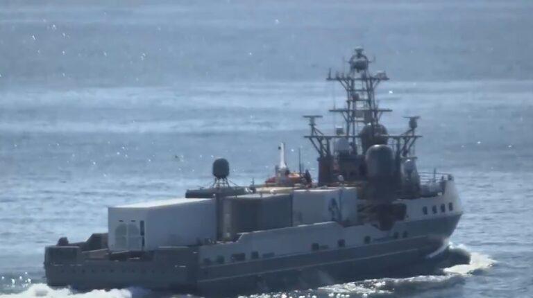 U.S. Navy deploys SM-6 missile on USV Ranger for tests