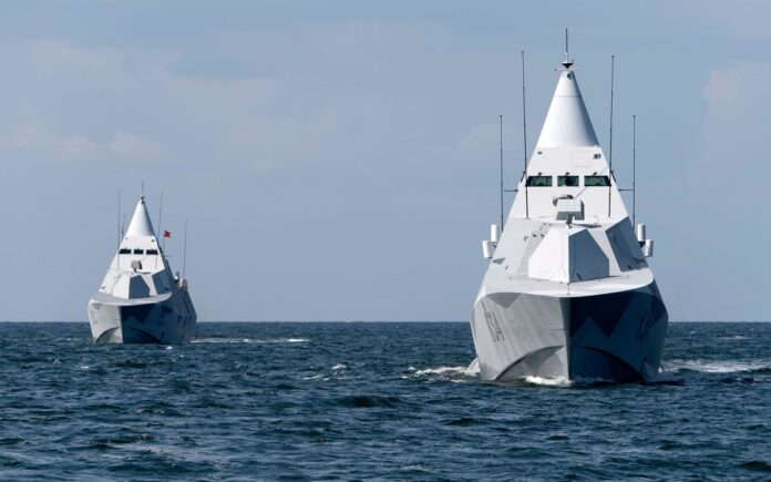 Visby class corvettes
