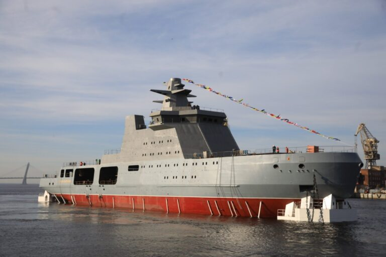 Russia to arm icebreaking patrol ships with Kalibr missile