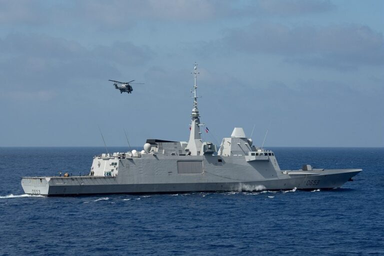 French frigate seizes 3.6 tons of drugs in the Indian Ocean