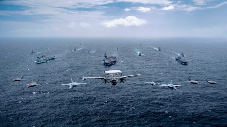 Maritime Partnership Exercise 2021 (MPX) brings together warships from Australia, Japan, UK, and the US