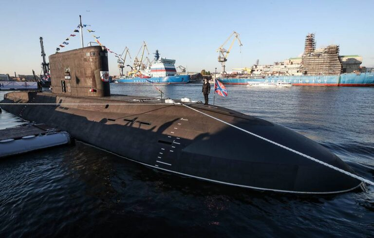 """Russian Navy commissions Project 636.3 submarine """"Magadan"""""""