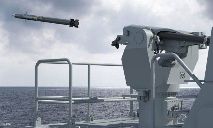 Philippine Navy receives Mistral 3 SAMs for two frigates