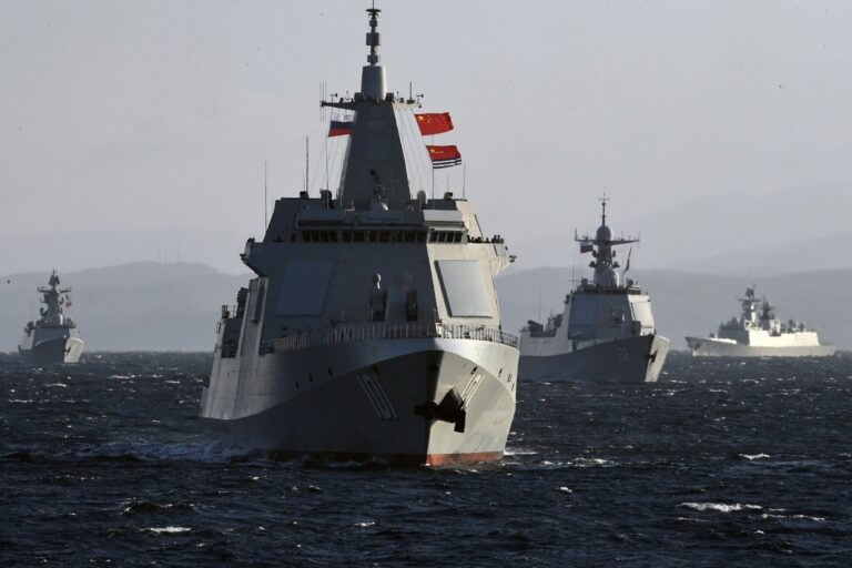 China, Russia conducts Joint Sea-2021 Naval Exercise in the Sea of Japan