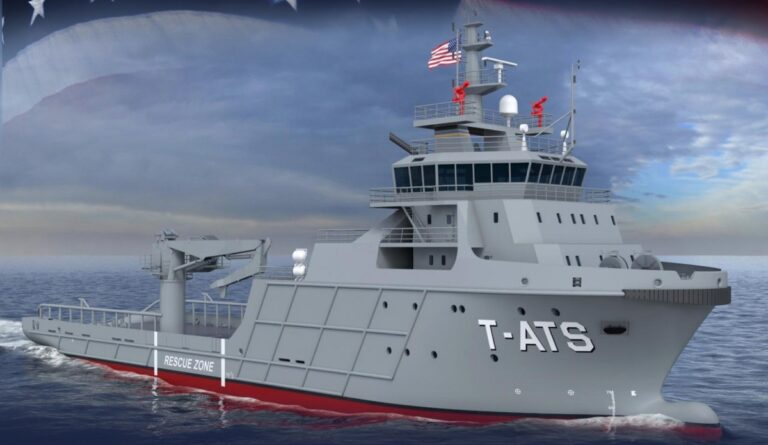 Austal awarded a contract to build 2 additional Navajo-class salvage ships
