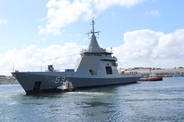 Naval Group delivers 3rd OPV 87 to Argentina