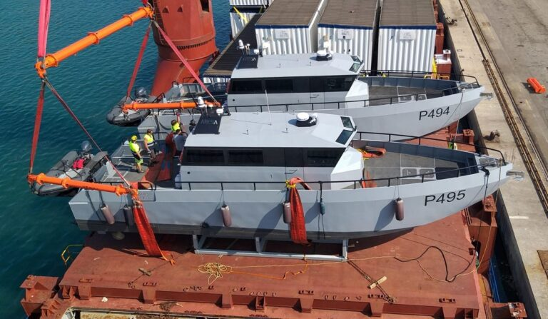 Spanish shipyard delivers 4 inshore patrol boats to the Nigerian Navy