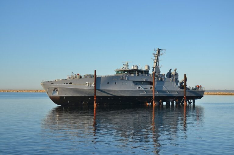 Austal launches the 1st Evolved Cape-class patrol boat for the Royal Australian Navy