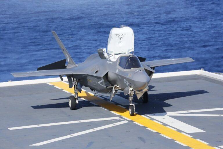 Japan begins F-35B trials onboard helo carriers