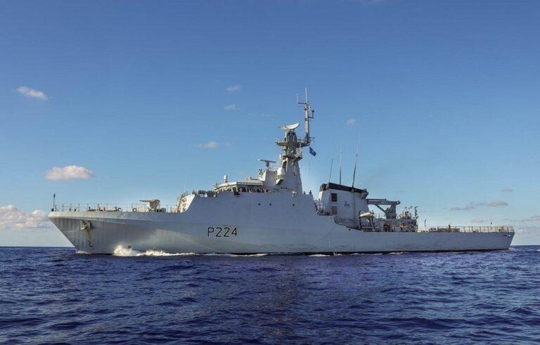 HMS Trent deploys on maritime security mission in the Gulf of Guinea