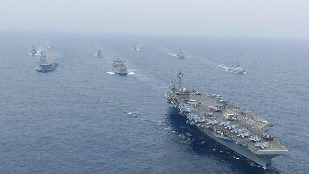malabar 2021 3 - Naval Post- Naval News and Information