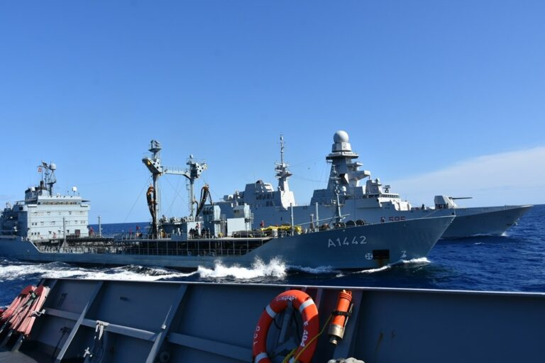 NATO warships attend the Italian-led Mare Aperto exercise