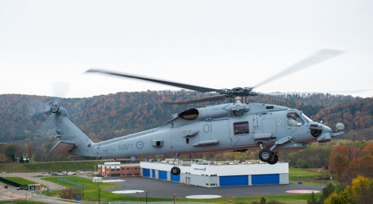 Royal Australian Navy's MH-60R Helo Ditches, Crew Safe