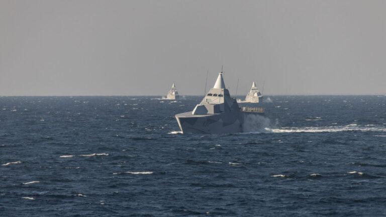 Swedish Navy's largest exercise SWENEX-21 kicks off