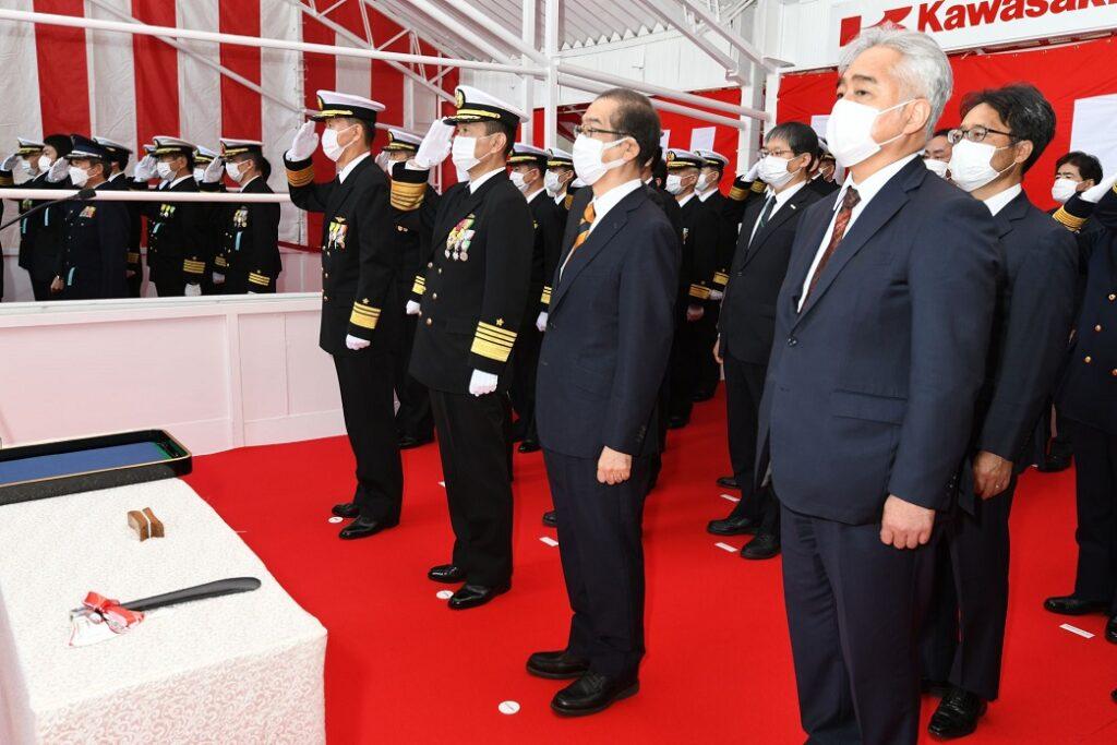 taigei class hakugei launch - naval post- naval news and information