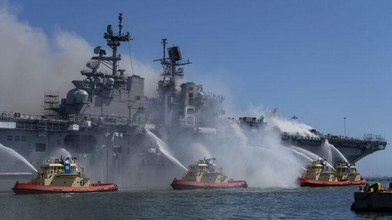 U.S. Navy releases Bonhomme Richard fire report