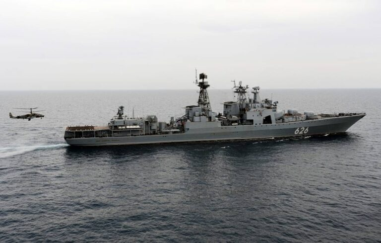 Russian Navy holds counter-piracy drills in the Gulf of Guinea